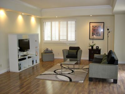 Photo for 3 Bedroom Apartment furnished  Walk to UCLA, and Westwood Los Angeles California