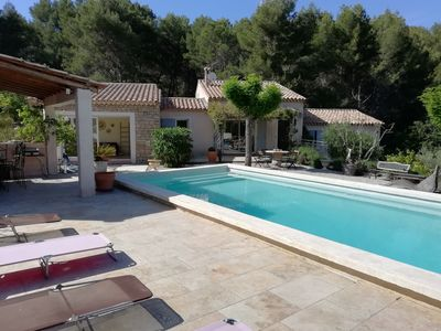 Photo for villa for 8 people in La Cadière d'Azur, near the sea and Castellet circuit