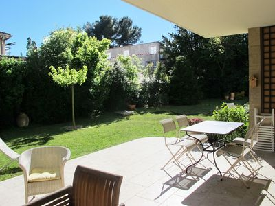 Photo for 3 bedrooms Large garden, greenery and quiet 10 minutes walk from the city center