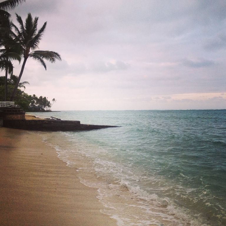 Beach House In Oahu: Sugar Mill Beach House. Luxury Accomodations Right On The