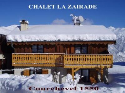 Photo for Courchevel Village: APPARTMENT Flat  in a chalet