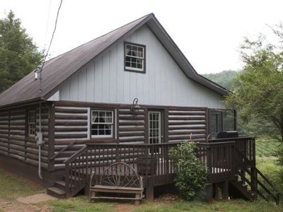Photo for Rabbit Creek Hideaway  Secluded less then 2.5 miles from town! Taxes Included