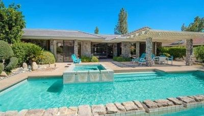 Photo for Stunning and private, with pool, spa, and gorgeous mountain views.
