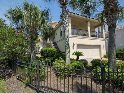 Photo for Sea Breeze Beach Home ~ Private Balconies with Beach Views, Community Pool, Short Walk to Beach!