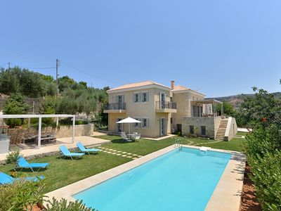 Photo for A Lovely Light And Airy New Built Villa For 10, With Private Pool