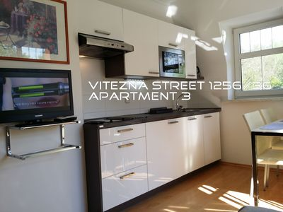 Photo for Apartment with 1 bedroom, kitchen and bathroom for 2-4 people