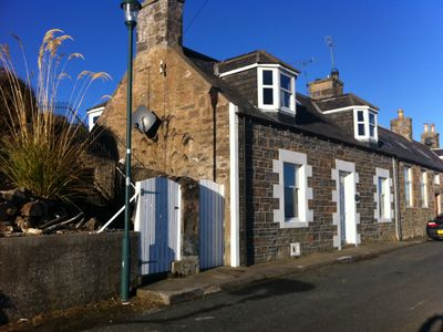 Photo for Sandend Cottage - in the picturesque 'get away from it all' fishing hamlet