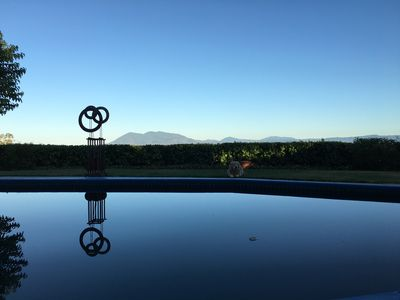Photo for Private 3 acre compound with saltwater pool, hot tub and VIEWS!!!