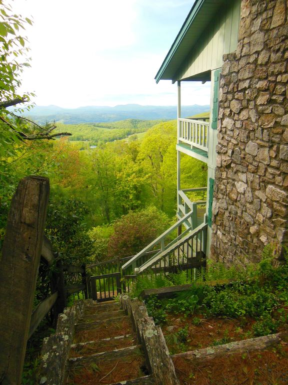 """What A View""""! Beautiful Blue Ridge Just Of The Parkway"""