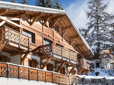 Photo for Modern 4 bed Chalet With Hot tub, Stunning Views Over Morzine