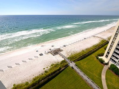 Photo for Fabulous View Penthouse Unit 1122 - Three bedroom directly on the Beach