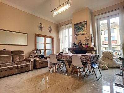 Photo for LARGE APARTMENT IN RESIDENCE BOURGEOISE FULL CENTER 2 STEPS FROM THE BEACHES