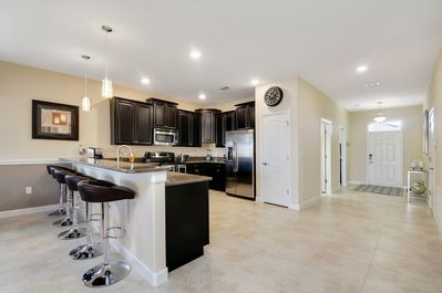 Kitchen & Bar Area - All Stainless Steel Appliances