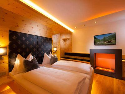 Photo for Deluxe Stone Pine Room - Hotel Alpina ****