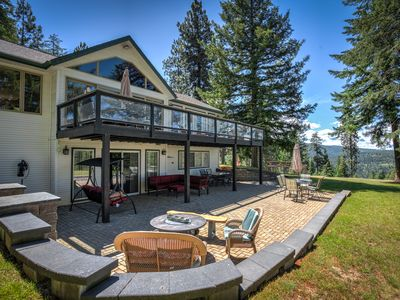 Photo for Private Luxury Home with Views of Lake Coeur d'Alene - Welcome to Hillcrest!