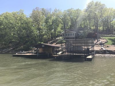 Photo for Waterfront House w/ Incredible View and Dock – Sleeps 16