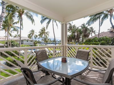 Photo for Elegant Resort Condo (1BR)- Near Golf Course, Walking Distance to Beach *WiFi, Lanai, Resort Pool*