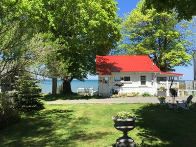 Photo for Waterfront Tiny home on the Great Lake-WINTER AND SUMMER- Lyndonville, NY