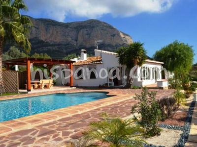Photo for Beautiful villa with large private pool for 6 people in Jávea