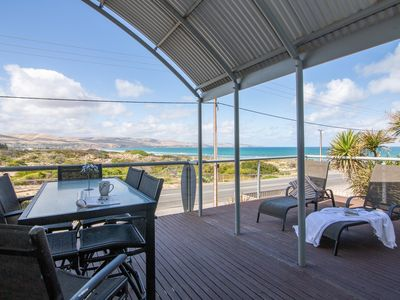 Photo for Through The Looking Glass - Large Family Beach House with Stunning Sea Views