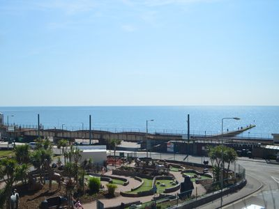 Photo for Mead Flat in the Heart of Dawlish with Great Sea Views 150m from the Beach