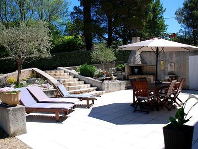 Photo for PROMOTION A WEEK - Spacious bottom of villa in Provence in Pierrevert