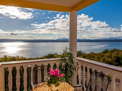 Photo for Modern holiday home with fantastic sea views (kvo)