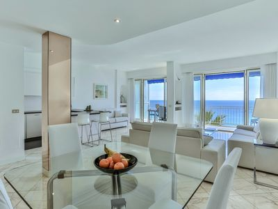 Photo for White Bay: 2 bes flat Nice Promenade des Anglais