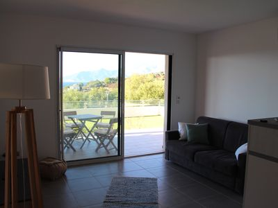 Photo for T2 apartment with views of the Gulf of Saint-Florent and Cap Corse