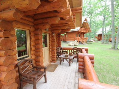Photo for 1 bedroom in Finnish Chalet (1 High) - Domaine de la Butte Ronde
