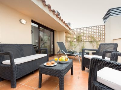 Photo for Penthouse 25 km from Barcelona , matarolux1