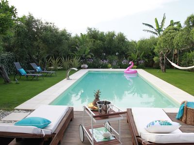 Photo for Elia Seaside Villa, an amazing two-story house in Kissamos with a pool