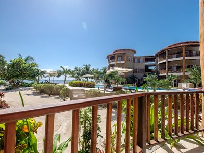 Photo for Indigo Belize - Beachfront Luxury Homes - 3 bedroom w/ porch access to beach