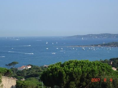 Photo for Exceptional view to the golf st. tropez