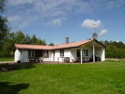 Photo for 73 m2 beautiful holiday home close to a good bathing beach. Wi-fi