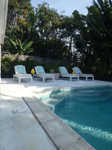 Enjoy your private, heated pool