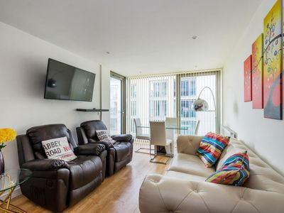 Photo for Stunning 2BR Home In Tottenham Hale w/Balcony - Two Bedroom Apartment, Sleeps 4