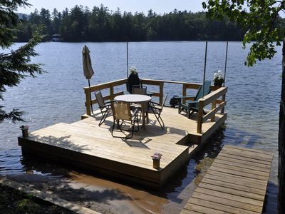 Photo for Vintage 1890's Cottage with Private Setting, Scenic Views, and Sandy Waterfront