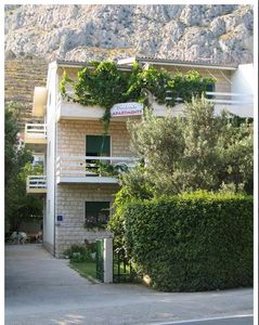 Photo for Holiday apartment Omiš for 4 - 6 persons with 2 bedrooms - Holiday apartment in one or multi-family