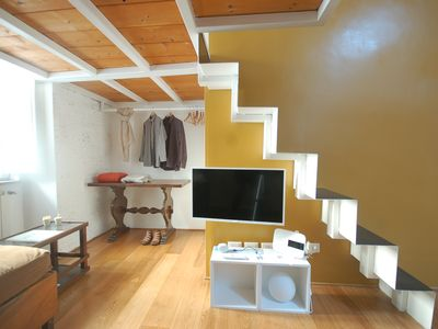 Photo for New in Rome! - Mini loft in the heart of Trastevere