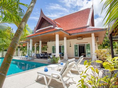 Photo for Holiday Pool Villa, 4BR, w/ Independent Pavilion