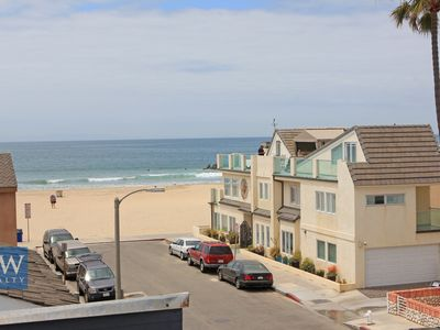 Photo for Fantastic Beachside Getaway! Huge Rooftop Deck with BBQ! 4 Car Garage