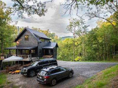 Photo for New construction located on 15 acres with private frontage on the Big Ivy River