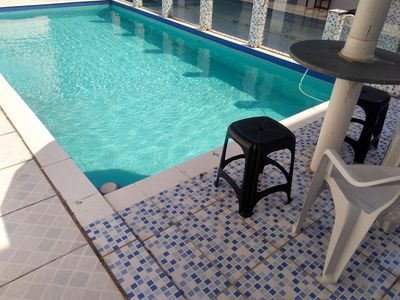 Photo for Beautiful house 300m from the beach Martin de Sa with pool and barbecue