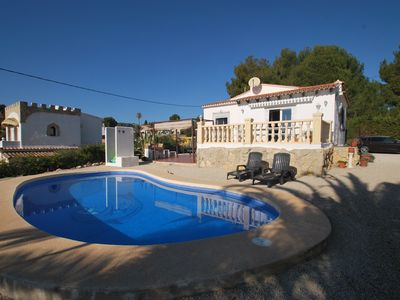 Photo for Holidayhome with private pool, centrical situation, barbecue, air condition