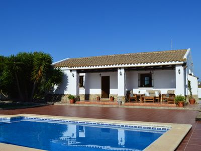 Photo for Country house with pool very close to the beach of Conil