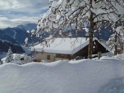 Photo for Rent 12 people in chalet Savoyard in HAUTELUCE / LES SAISIES