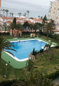 Photo for Elegant Studio Apartment On the Beach with Pool, Terrace, Tennis Court and Garden; Pets Allowed