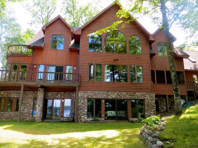 Photo for Hayward/cable- Large, 6100 Sq Ft Retreat On Pristine Diamond Lake- The Gem