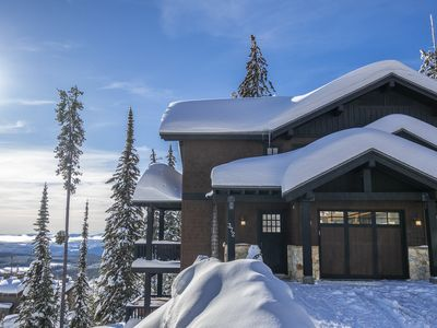 Photo for Book now for Christmas Holidays 2019/2020! Ski in/out, 4 bedroom, amazing views